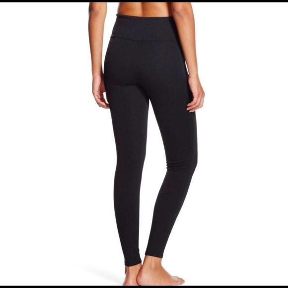 New Red Hot Spanx Black Shaping Legging SZ M $68